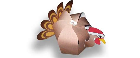 Papercraft Designer - turkey papercraft paper toys west midlands