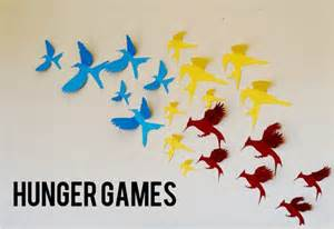Hunger games mockingjay bird 3d wall art and decor by leeshay 30 00