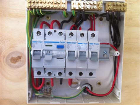wiring diagram rcd switchboard electrical wiring