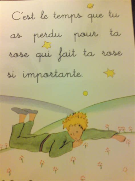 le petit prince le petit prince quotes in french and english quotesgram