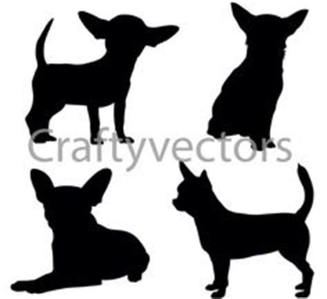 chihuahua silhouette bing images | how cute! | pinterest