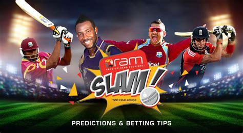 Ram Sulam ram slam t20 challenge 2015 predictions betting tips