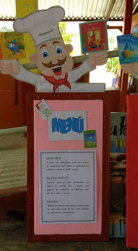 imagenes restaurantes escolares proyecto restaurante literario 3 d 237 a del libro