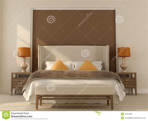 beige and brown bedroom ideas beige bedroom with orange decor royalty free stock photos