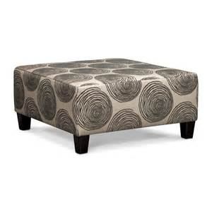 Gray Ottomans Cordelle 3 Sectional And Cocktail Ottoman Set Gray American Signature Furniture
