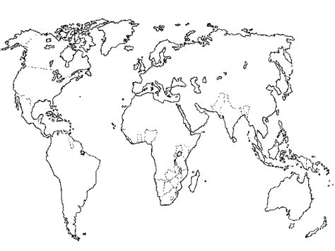 black and white map with country names gaga world map with countries names