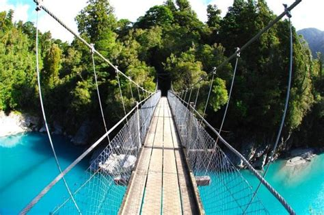 swing bridge nz hokitika scenic guided tours west coast of the south island