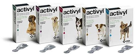 activyl spot on for dogs activyl sopt on flea treatment for dogs and cats viovet