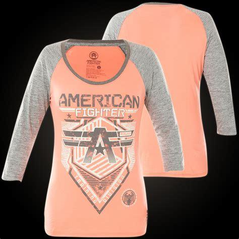 Hoodie Sweater Fighter Fei Grey Backfront Logo american fighter sweater millersville 3 4 raglan with a bird of prey