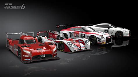 nissan gran turismo racing you can now drive the nissan gt r lm nismo in gran turismo 6