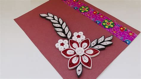 paper quilling birthday cards tutorial quilling how to create a simple quilled birthday card