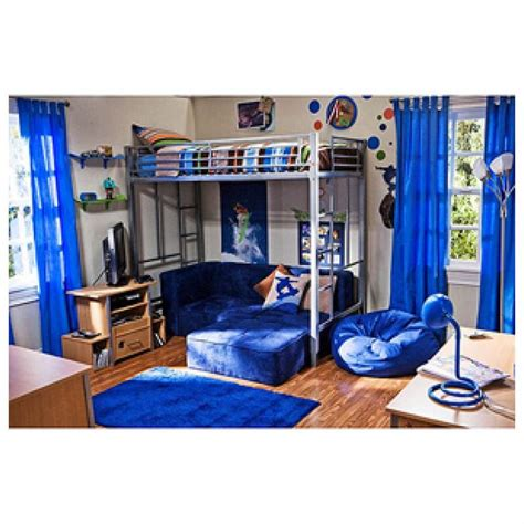 in the zone size metal loft bed 007106783 wfs160