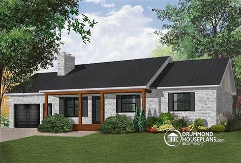 3 bedroom houses in california w4240 affordable 3 bedroom bungalow house plan with