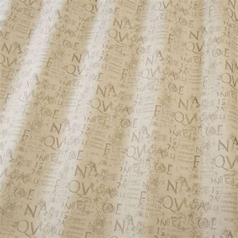 calligraphy fabric natural calligraphynatural iliv shabby chic terracotta fabrics