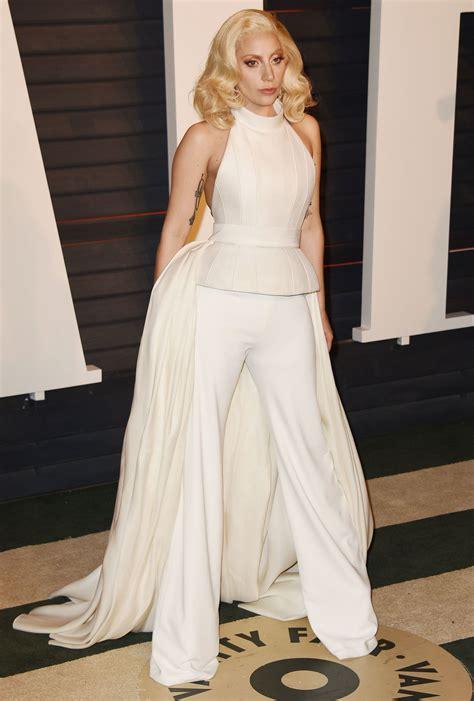 Gaga Vanity Fair by Gaga 2016 Vanity Fair Oscar In Beverly Ca