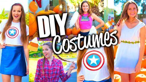 easy cute diy halloween costumes  teens youtube