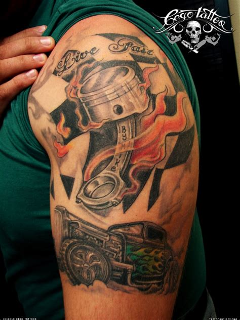 automotive sleeve image result for automotive sleeve tattoos jason