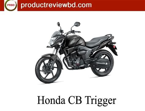 honda trigger specification honda cb trigger review motorcycle review and galleries