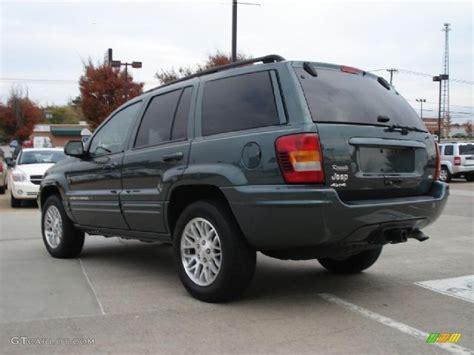 2003 green jeep onyx green pearlcoat 2003 jeep grand cherokee limited 4x4