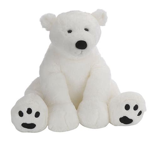 Boneka Polar Soft Animal Doll White Teddy Be Bisa Gojek toys r us plush 15 5 inch polar white toys r us