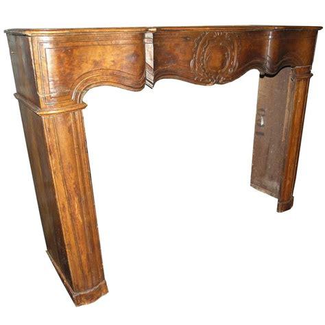 Walnut Fireplace Mantel by Antique Walnut Fireplace Mantel For Sale At 1stdibs