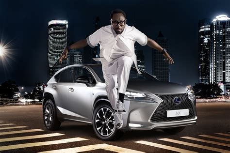 lexus commercial will i am promotes new lexus nx in europe will design