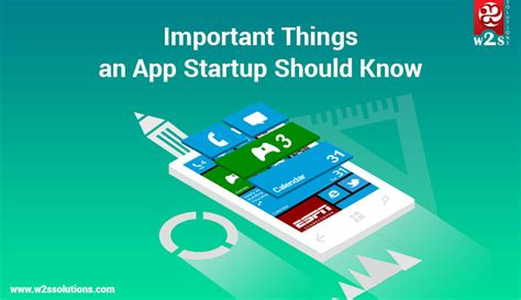 Thonhs Import Lj1007 most important things an app startup should w2s solutions
