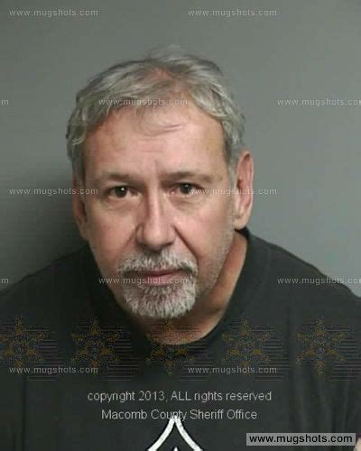 Macomb County Michigan Court Records Brian Brabeau Mugshot Brian Brabeau Arrest Macomb County Mi