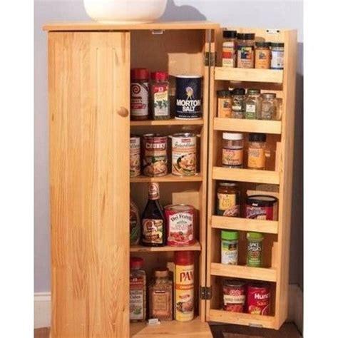 Pantry Space Savers by Wooden Kitchen Pantry Organizer Storage Space Saver Food