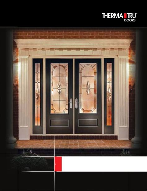 Therma Tru Interior Doors Therma Tru Door Catalog
