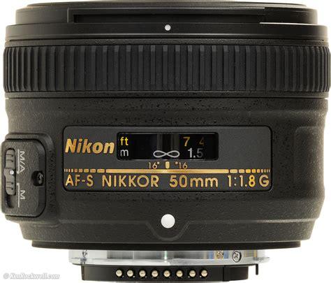 Nikon Af S 50mm F1 8g Lensa Kamera jual nikon af s 50mm f1 8 g b kamera lensa lu