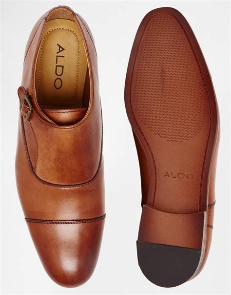 slippers aldo lyst aldo wadoniel monk shoes in brown for