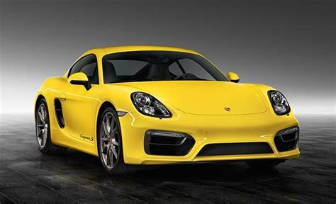 porsche cayman yellow racing yellow porsche cayman s
