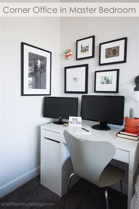 Office In Master Bedroom by Small Office In Master Bedroom One Minute