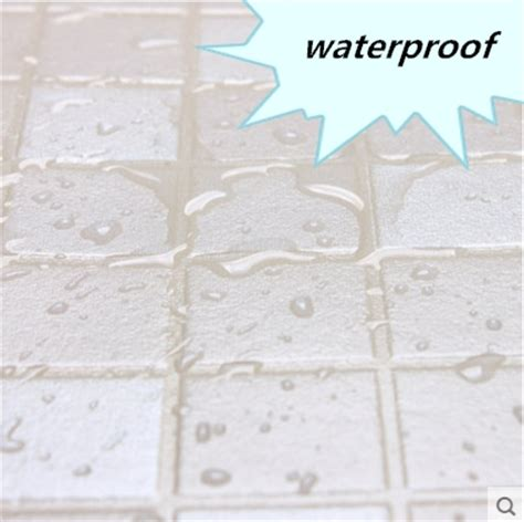 waterproof bathroom tile stickers new hot oil proof eco friendly white mosaic wall stickers