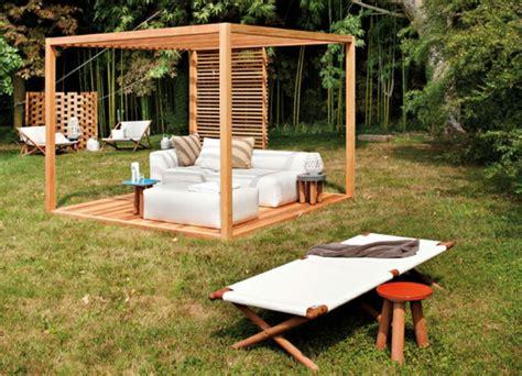 pavillon mit rolldach pergola bauen oder wie kann eine gartenlaube selbst