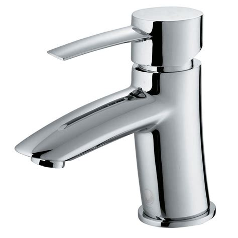 vigo single single handle bathroom faucet in chrome