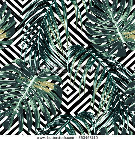 jungle pattern texture tropical palm leaves jungle leaves beautiful seamless