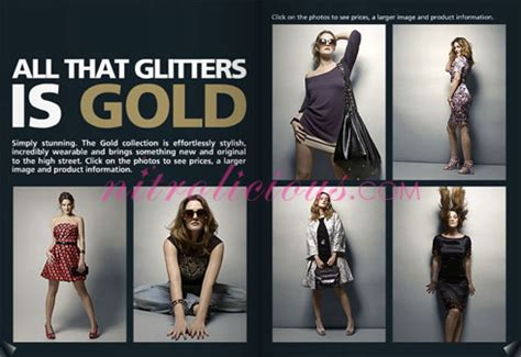 Giles Deacons Gold Season Range Soon To Hit Stores by Gold By Giles Deacon For New Look Nitrolicious