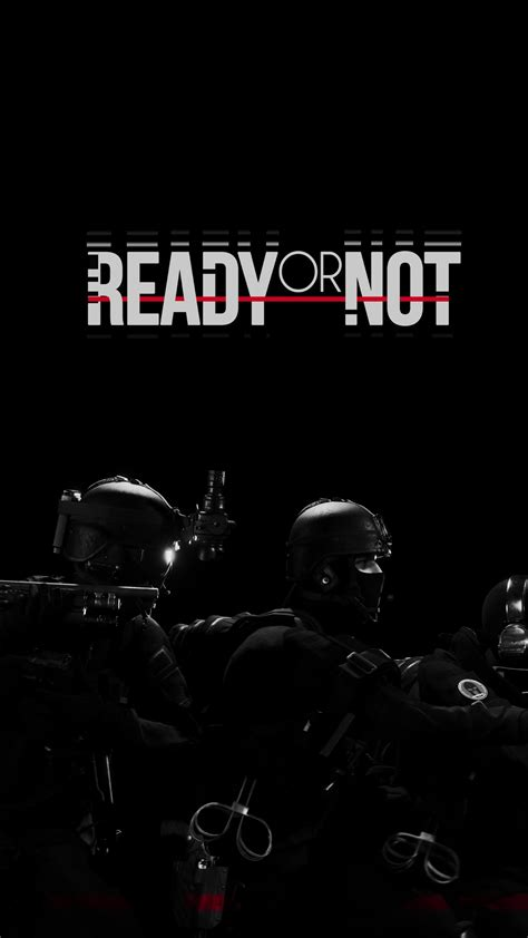 Wallpaper Ready Or Not, tactical FPS, best games, Games #13487