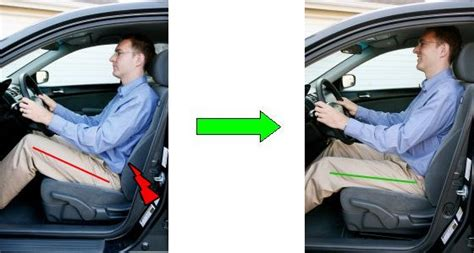 comfortable car seats for bad backs tips for good posture while driving kingswilliam five dock