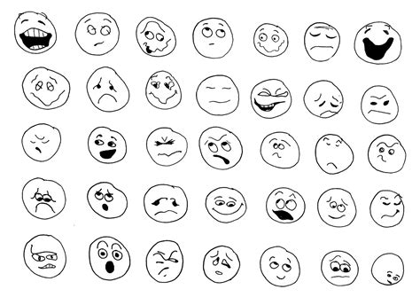 Free Coloring Pages Of Emotion Emotions Coloring Page