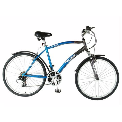 mens comfort bikes men s polaris 174 21 speed sportsman comfort cruising bike