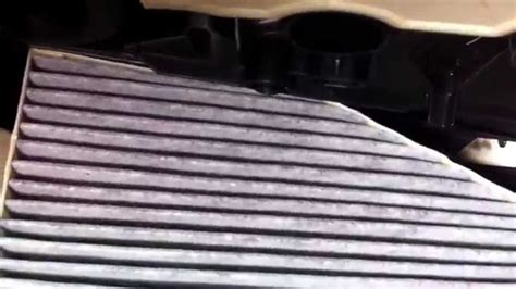 vw tiguan  innenraumfilter wechseln   air cabin filter replacement youtube