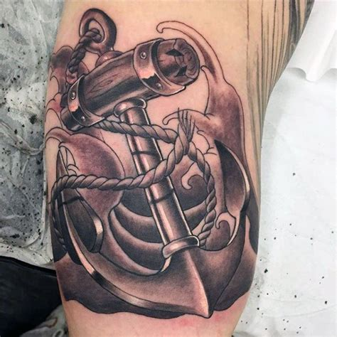 what does a boat symbolize 50 anchor tattoos for men a sea of masculine ideas