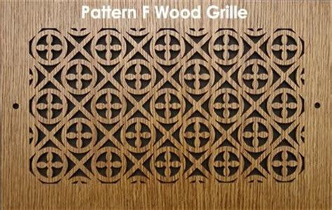 pattern cut wood grilles wood vent grilles wood grilles patterncut