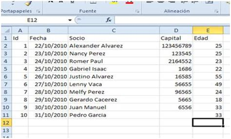 tutorial excel 2010 base de datos exportar base de datos excel 2010 para php
