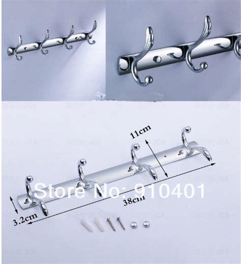 Multi Function Hook Hw080 1 multi function bathroom 15 quot wall mounted hook door 4 hook