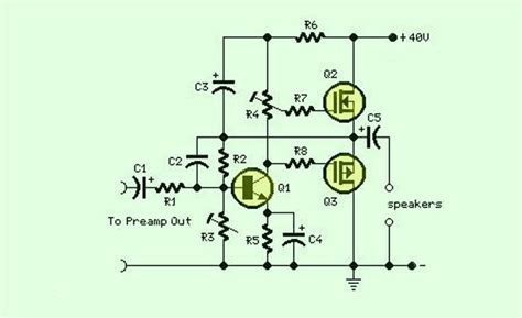mosfet transistor audio lifier mosfet lifier electronic circuits and diagram electronics projects and design