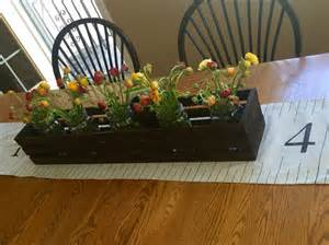 wooden crate centerpieces table centerpiece wooden crates centerpieces by